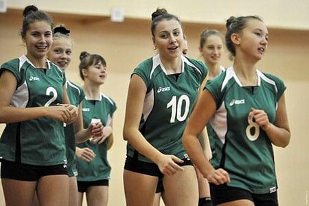 Упражнения для волейболистов 14-15 лет