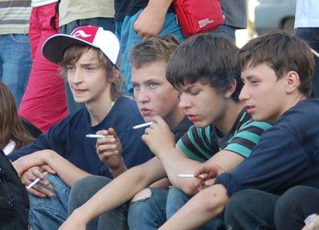 Анализ влияния курения на здоровье молодого человека